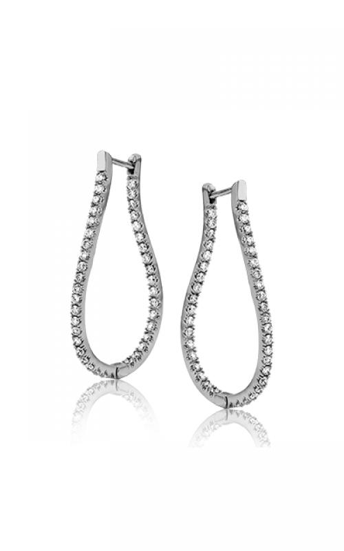 Zeghani Delicate Diva Earrings ZE208 product image