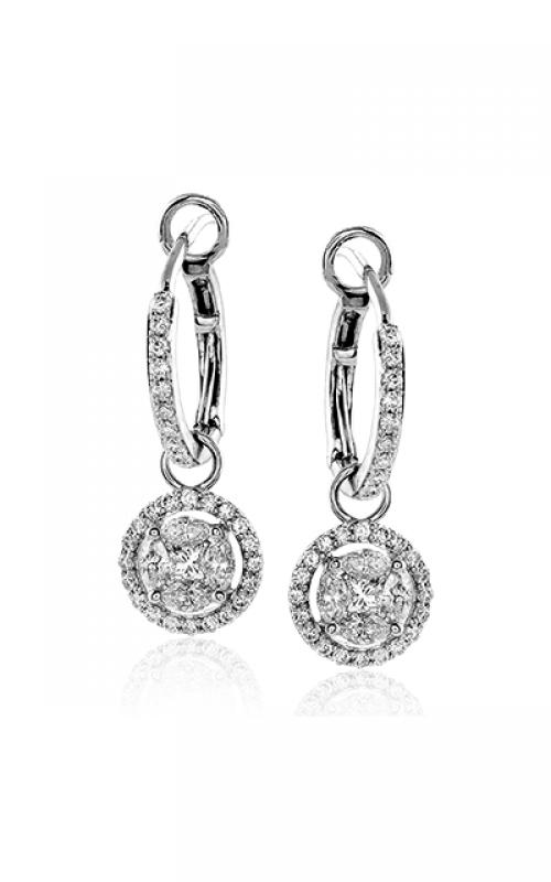 Zeghani Delicate Diva Earrings ZE292 product image