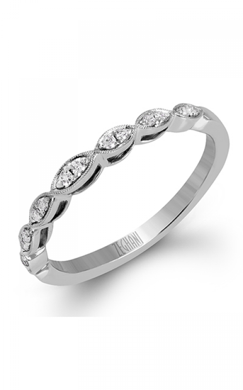 Zeghani Blindingly Beautiful Wedding band ZR938 product image