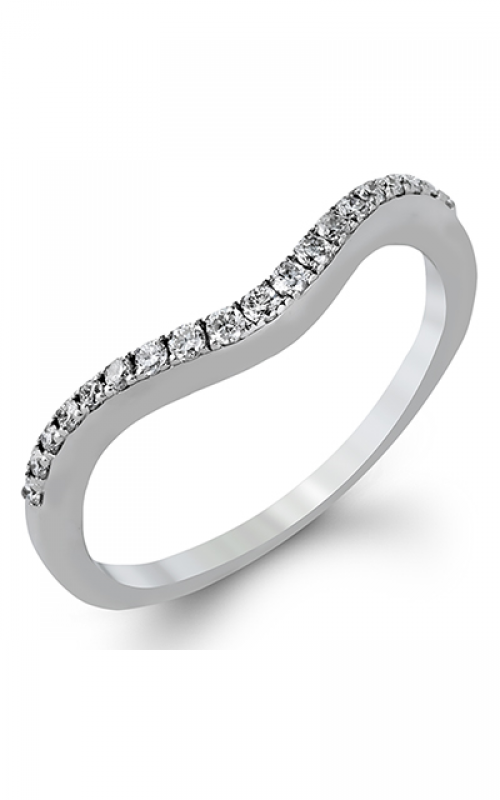 Zeghani Delicate Diva Wedding band ZR909 product image