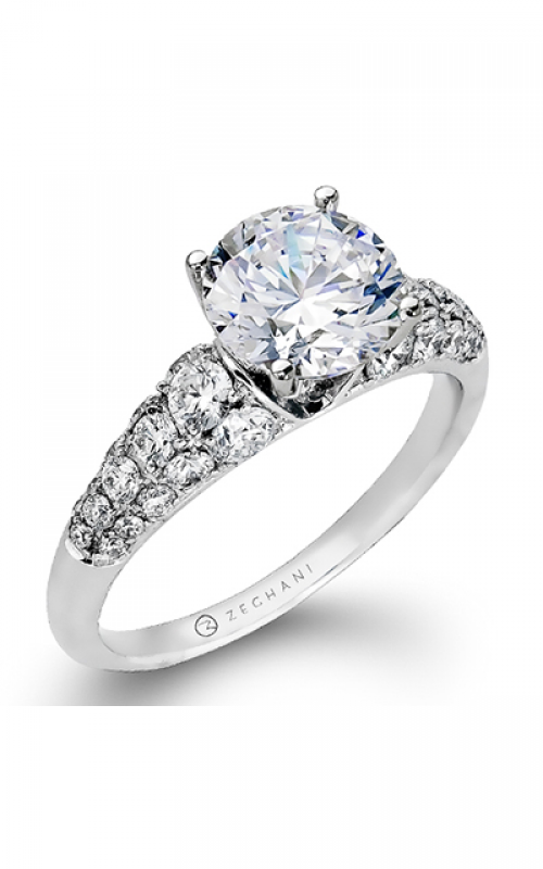 Zeghani Blindingly Beautiful Engagement ring ZR898 product image