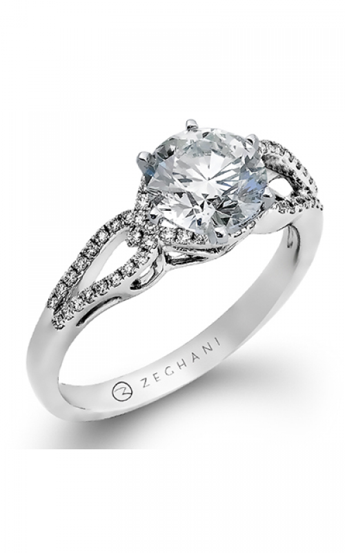 Zeghani Refined Rebel Engagement ring ZR897 product image