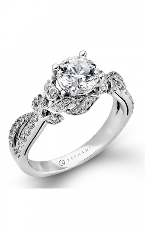 Zeghani Nature Lover Engagement ring ZR879 product image
