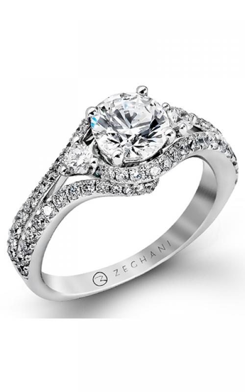 Zeghani Blindingly Beautiful Engagement ring ZR873 product image