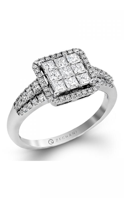 Zeghani Blindingly Beautiful Fashion ring ZR840 product image