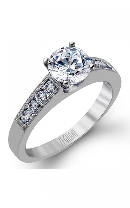 Zeghani Delicate Diva Engagement ring ZR836 product image