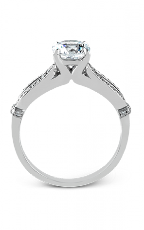 Zeghani Delicate Diva Engagement ring ZR825 product image