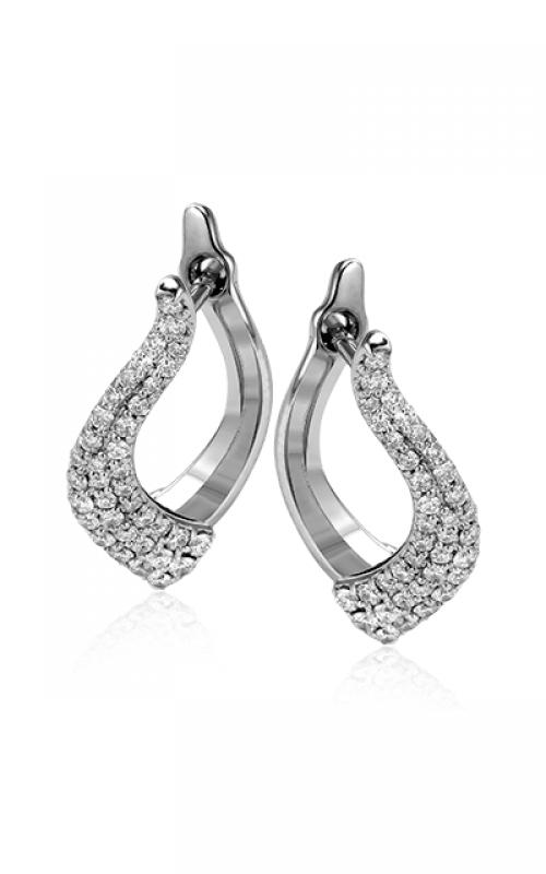 Zeghani Refined Rebel Earrings ZE328 product image