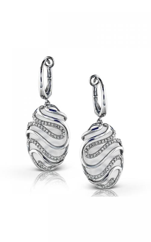 Zeghani Refined Rebel Earrings ZE337 product image