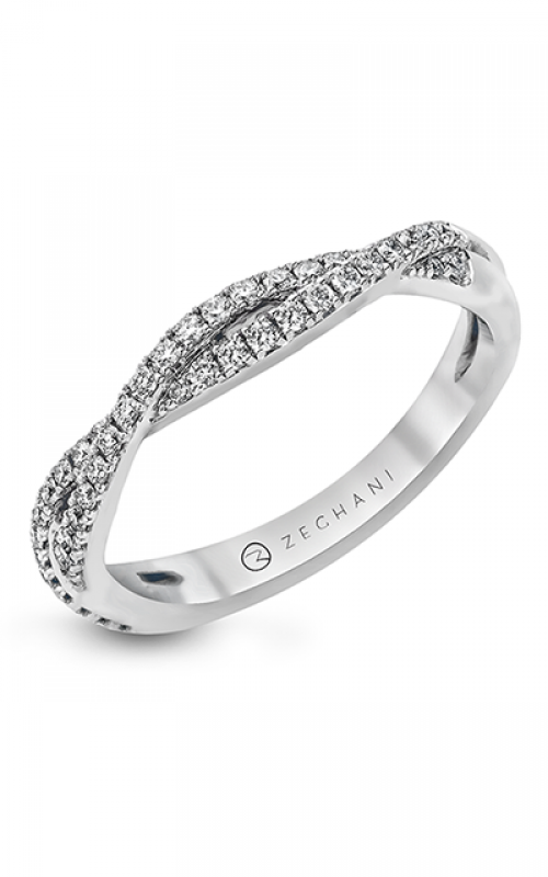 Zeghani Delicate Diva Wedding band ZR717 product image