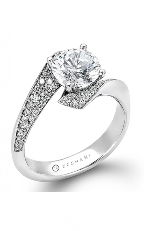 Zeghani Refined Rebel Engagement ring ZR716 product image