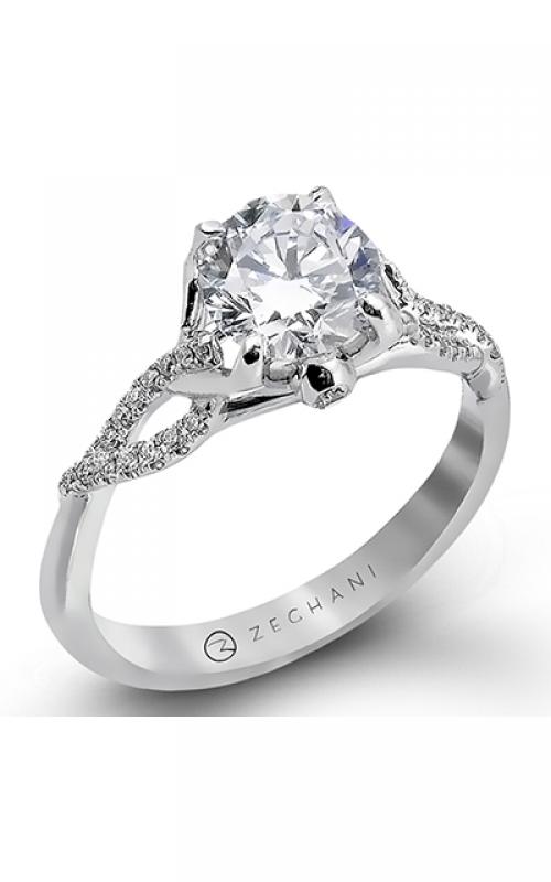 Zeghani Nature Lover Engagement ring ZR583 product image