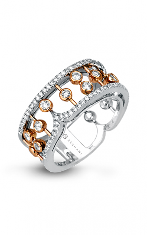 Zeghani Delicate Diva Fashion ring ZR525 product image
