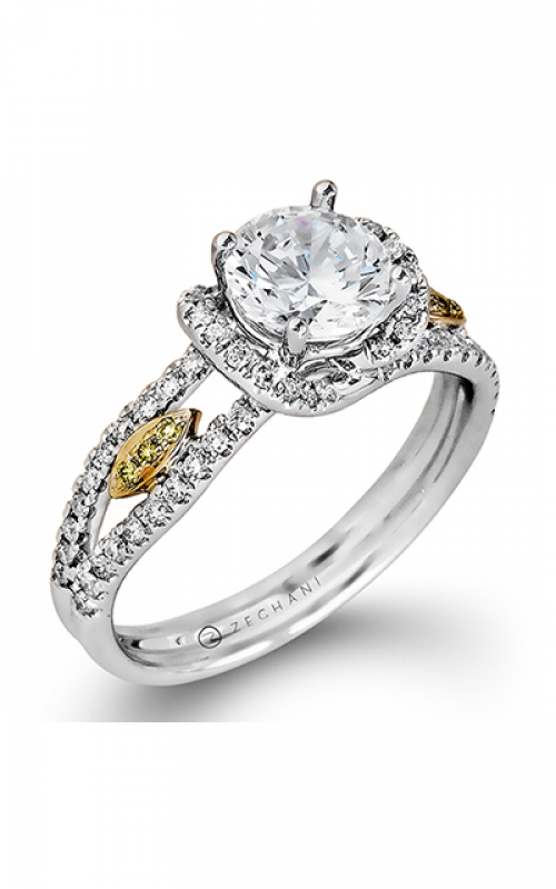 Zeghani Vintage Vixen Engagement ring ZR520 product image