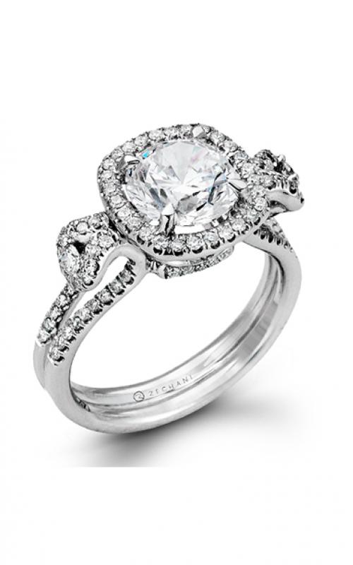 Zeghani Vintage Vixen Engagement ring ZR495 product image