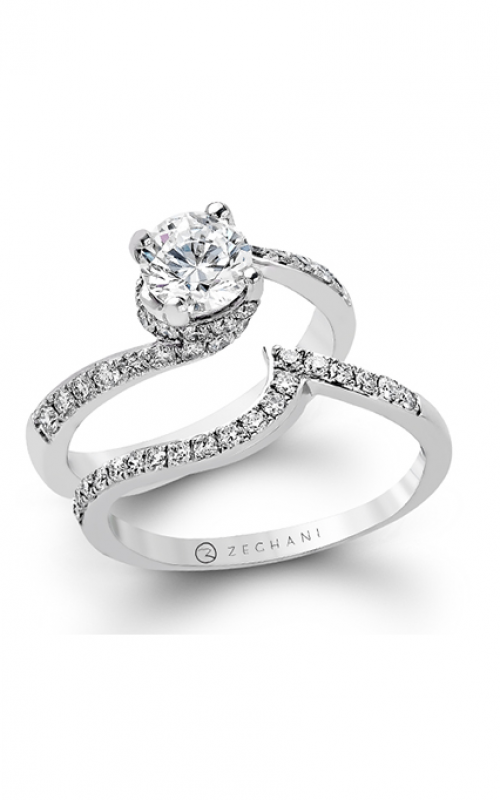 Zeghani Refined Rebel Engagement ring ZR457 product image