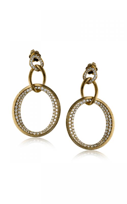 Zeghani Delicate Diva Earrings ZE439 product image