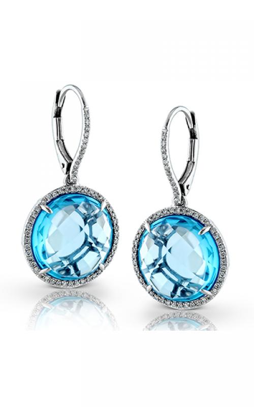 Zeghani Delicate Diva Earrings ZE444 product image