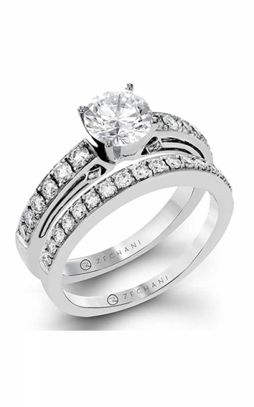 Zeghani Delicate Diva Engagement ring ZR425 product image