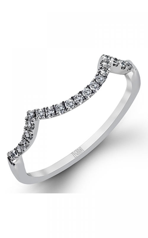 Zeghani Blindingly Beautiful Wedding band ZR422 product image