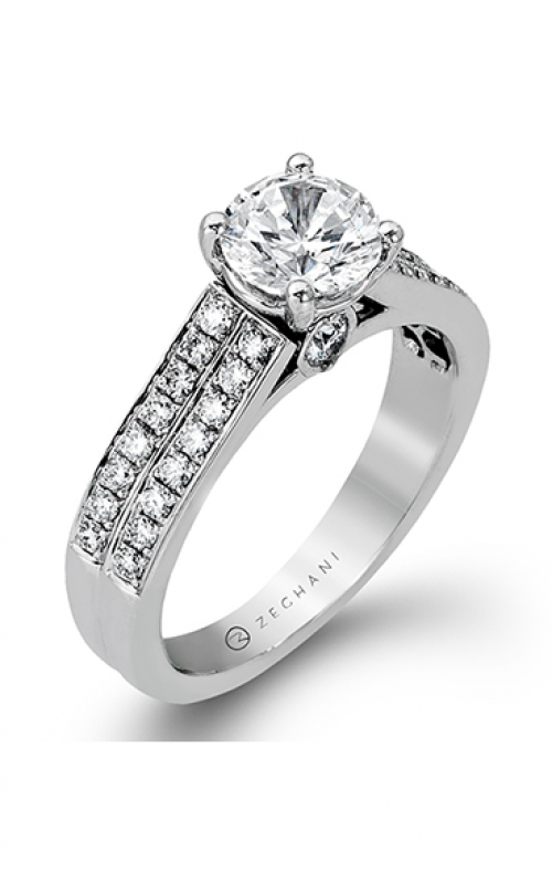 Zeghani Blindingly Beautiful Engagement ring ZR418 product image