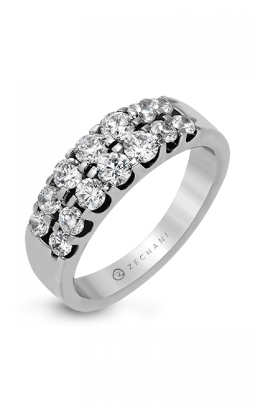 Zeghani Blindingly Beautiful Wedding band ZR414 product image
