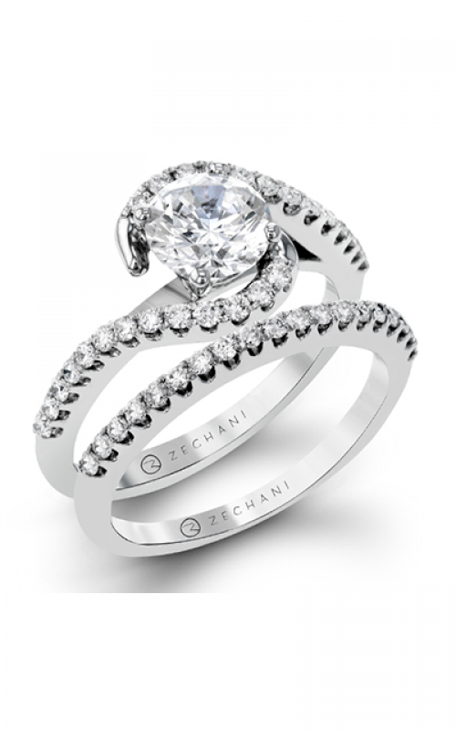 Zeghani Refined Rebel Engagement ring ZR407 product image