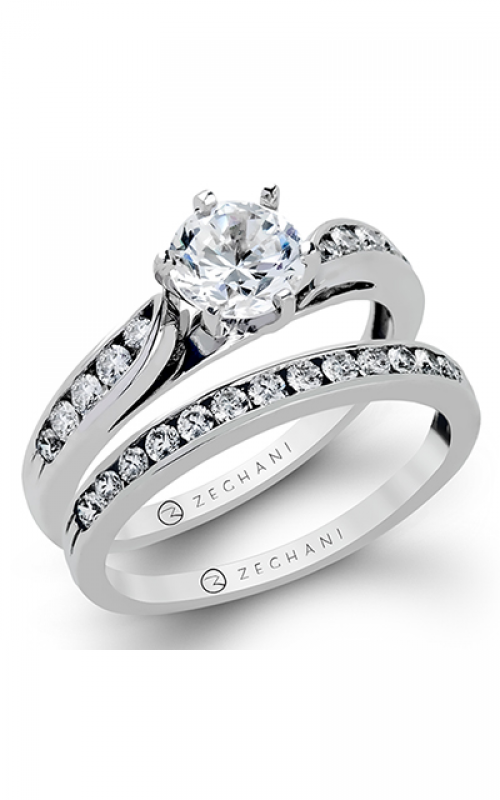 Zeghani Classic Beauty  Engagement ring ZR398 product image