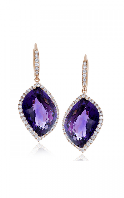 Zeghani Blindingly Beautiful Earrings ZE537 product image