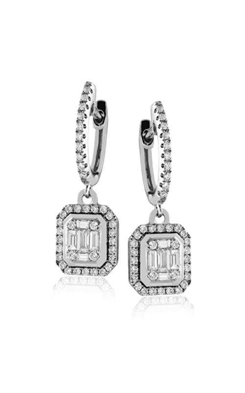 Zeghani Delicate Diva Earrings ZE542 product image
