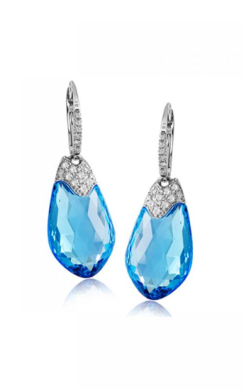 Zeghani Blindingly Beautiful Earrings ZE579 product image
