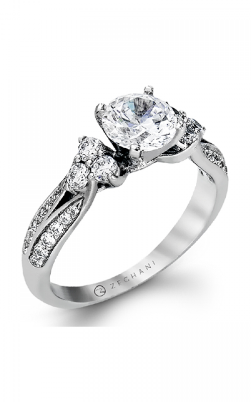 Zeghani Nature Lover Engagement ring ZR342 product image