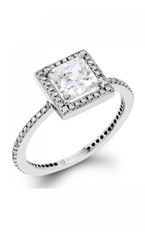Zeghani Blindingly Beautiful Engagement ring ZR257 product image