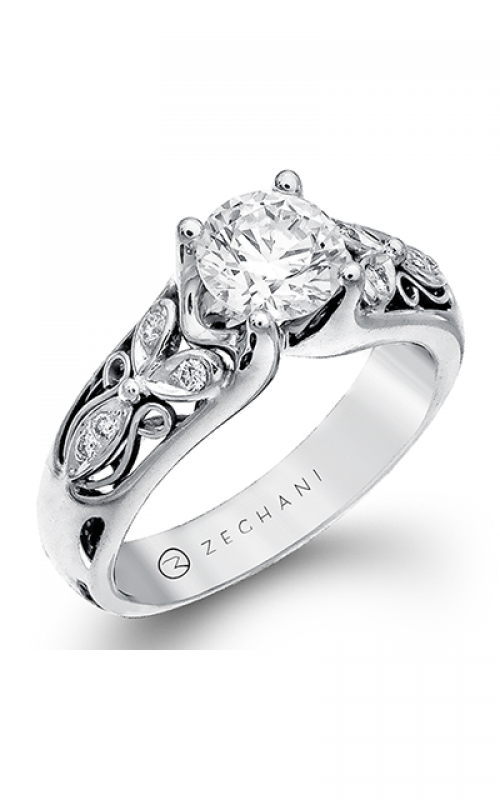 Zeghani Nature Lover Engagement ring ZR231 product image