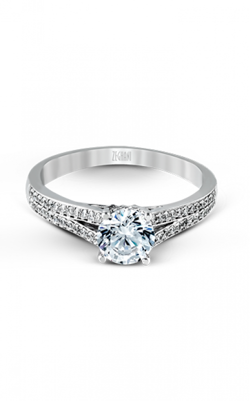 Zeghani Delicate Diva Engagement ring ZR226 product image