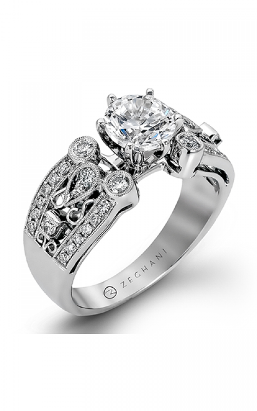 Zeghani Refined Rebel Engagement ring ZR210 product image