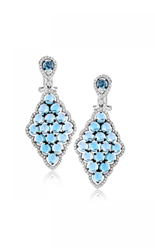 Zeghani Blindingly Beautiful Earrings ZE591 product image