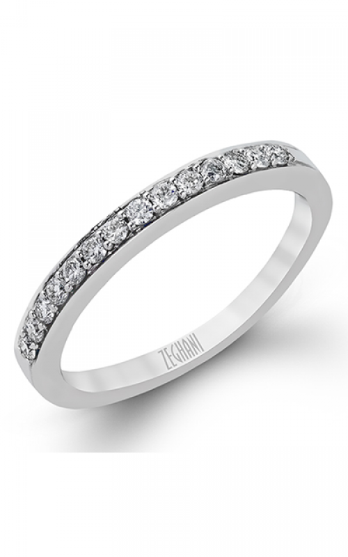 Zeghani Delicate Diva Wedding band ZR204 product image