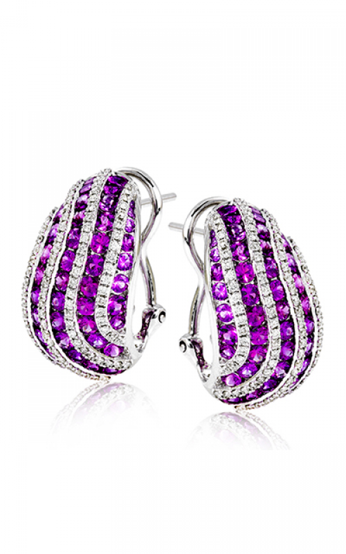 Zeghani Refined Rebel Earrings ZE603 product image
