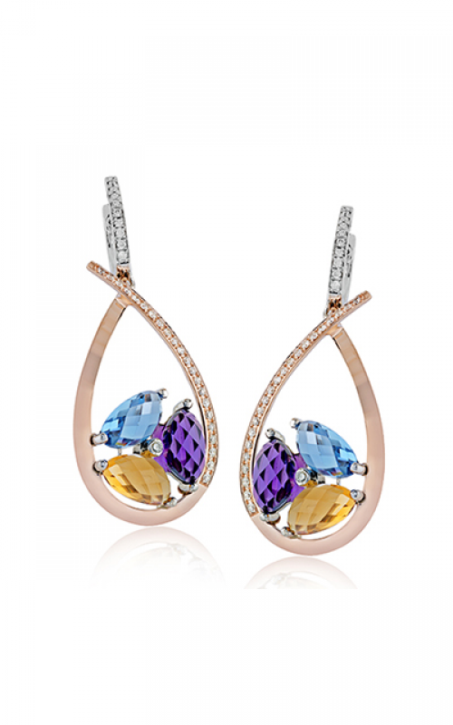 Zeghani Refined Rebel Earrings ZE604 product image