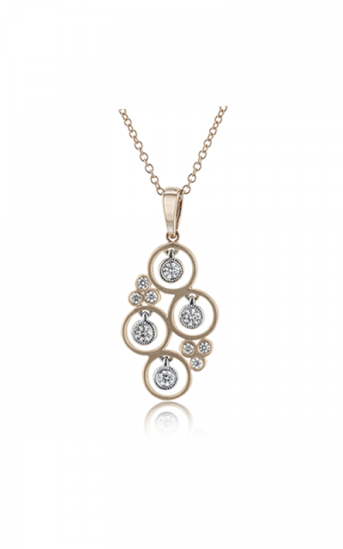 Zeghani Refined Rebel Necklace ZP1043 product image