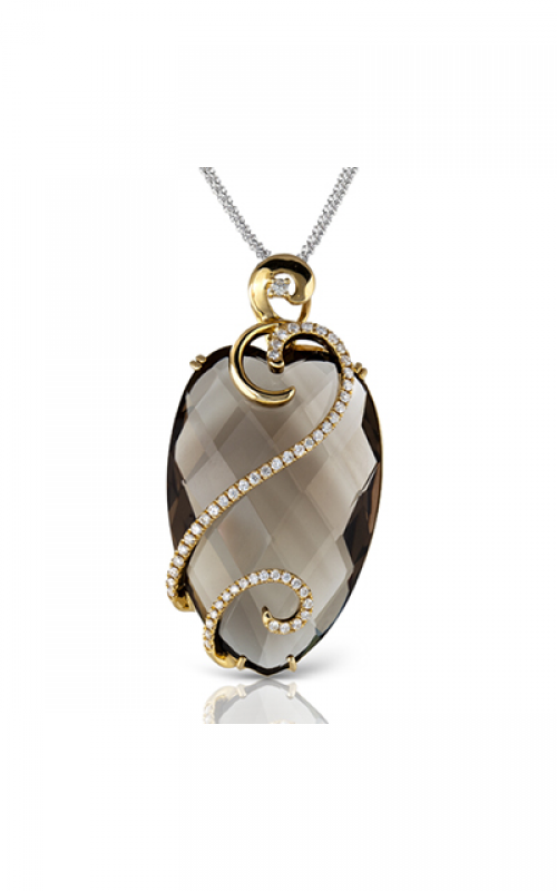 Zeghani Refined Rebel Necklace ZP340 product image