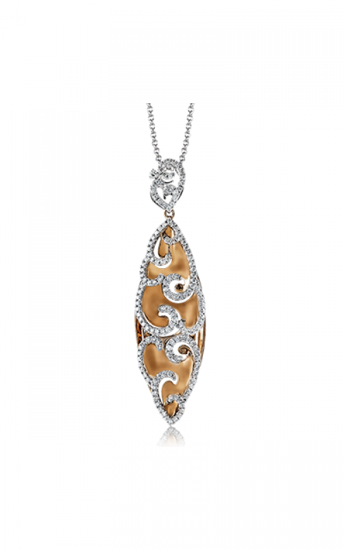 Zeghani Refined Rebel Necklace ZP610 product image