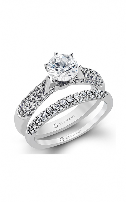 Zeghani Blindingly Beautiful Engagement ring ZR153 product image