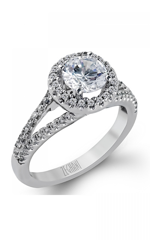 Zeghani Delicate Diva Engagement ring ZR152 product image