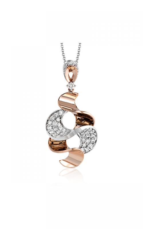Zeghani Refined Rebel Necklace ZP805 product image