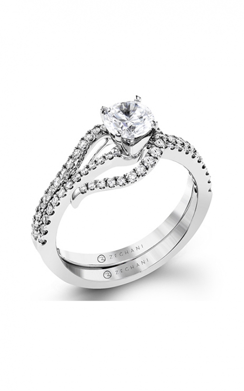 Zeghani Refined Rebel Engagement ring ZR1497 product image