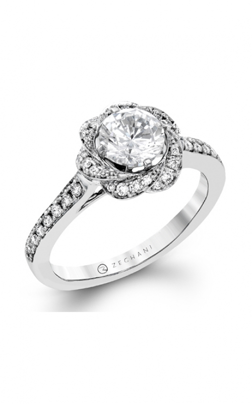 Zeghani Nature Lover Engagement ring ZR1434 product image