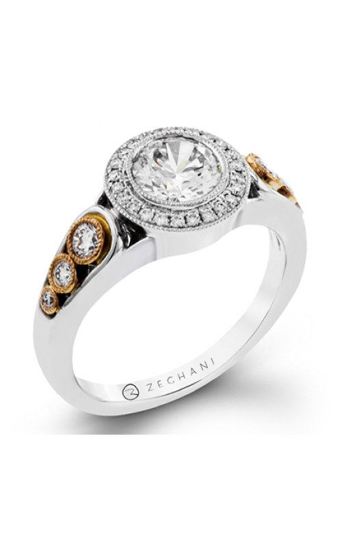 Zeghani Vintage Vixen Engagement ring ZR1421 product image