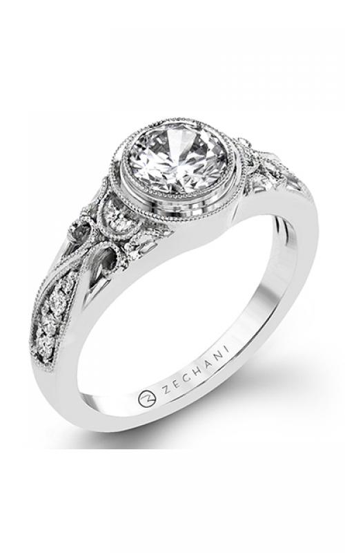 Zeghani Vintage Vixen Engagement ring ZR1397 product image